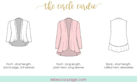 Rebecca Page Circle Cardie – An Introduction